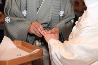 結婚式/指輪の儀